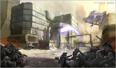 Halo 3: ODST Concepto