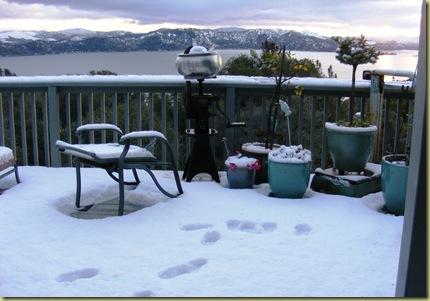SnowOnThe Deck
