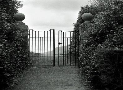 uma porta aberta