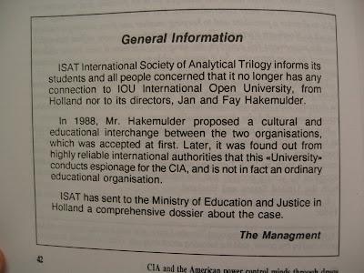 ISAT General Information