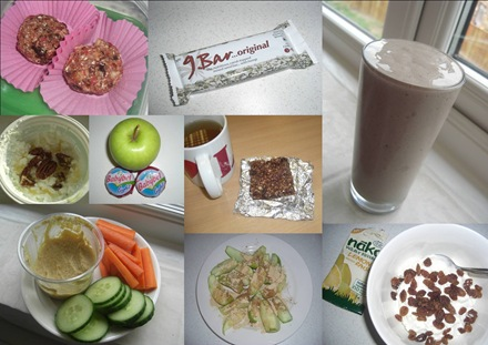 healthy snacks coll