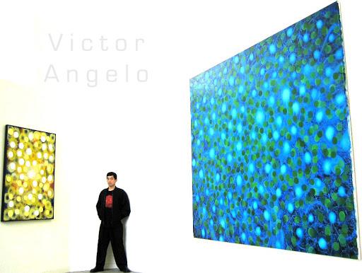 Victor Angelo focus paintings
