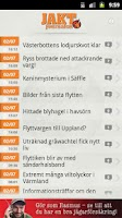 Screenshot of Jaktjournalen