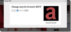 Anyvite Change RSVP Window