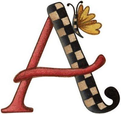 Preciosas letras decorativas - Letras decorativas para ninos ...