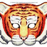 Máscara Tigre