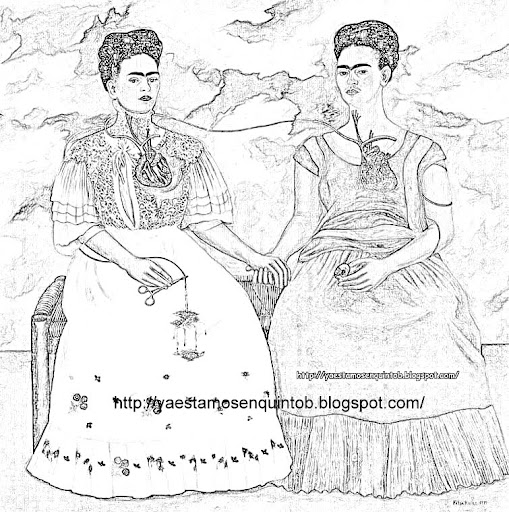 Frida Kahlo Free Coloring Pages Frida Kahlo Coloring Pages