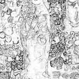 Gustav Klimt. Retrato de. Ria Munk