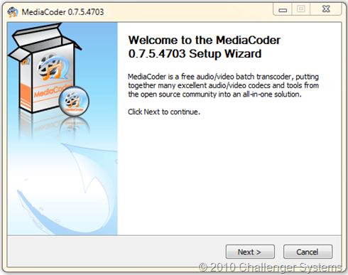 MediaCoder 0.75.4703