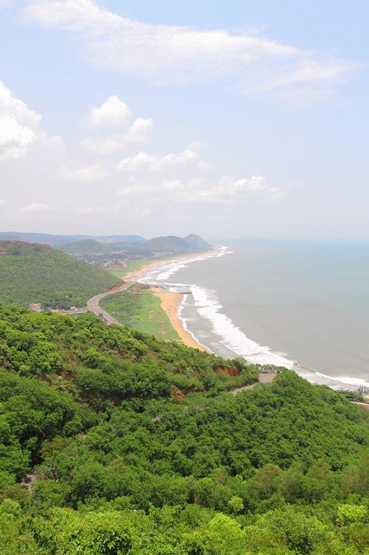 Vizag's Beach Line