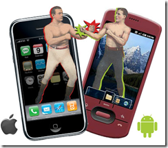 iPhone and Android