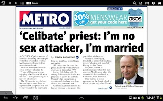 Screenshot of Metro Digital Edition