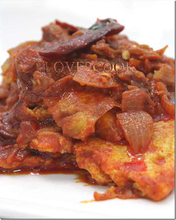 omelette sambal
