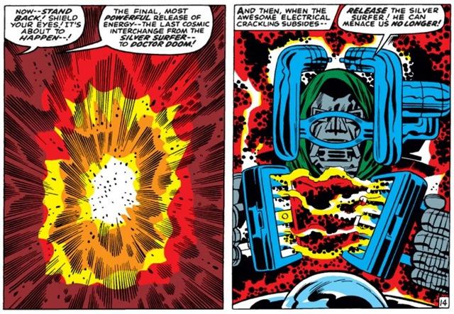 Fear my cosmic waffle iron!