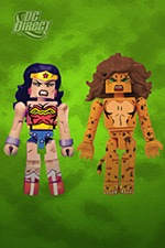 Mini-Mates Wonder Woman and Cheetah