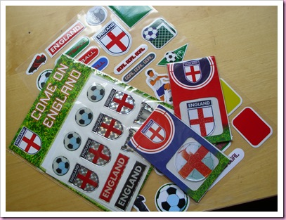 Poundland England Stickers World Cup