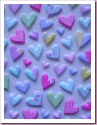 Accessorize Heart Stickers
