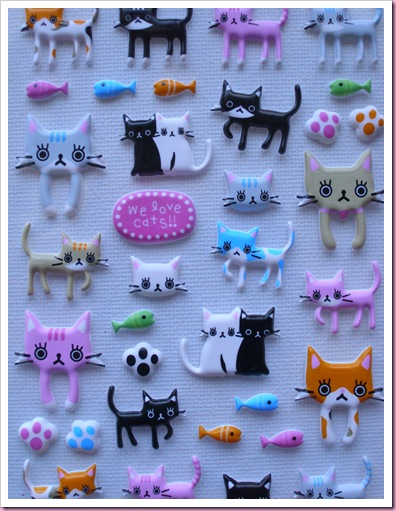 Accessorize Cat Stickers