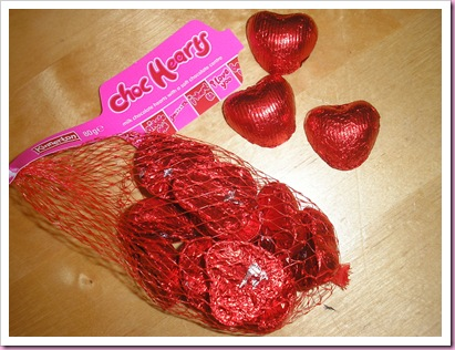 Asda Chocolate Hearts