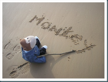 Writing My Name In the Sand