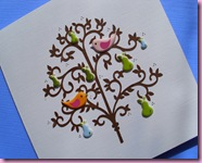 Birds in tree Card 3