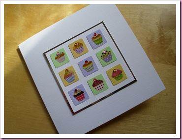Mini Cakes card