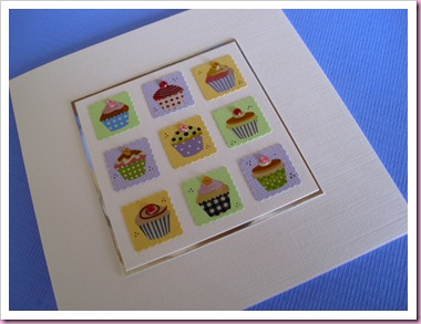 Patchwork Cake card 2