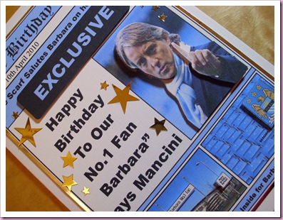 Manchester City Birthday Card 2