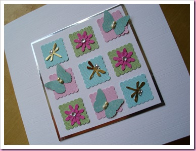 Butterfly Patchwork Card