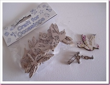 Wooden Embellishments