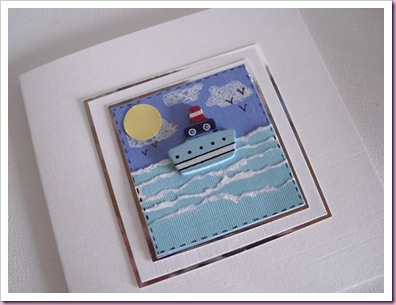 Little Ship at Sea