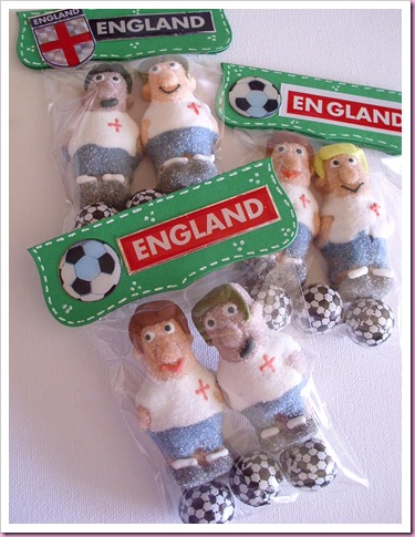 World Cup England Sweetie Bags