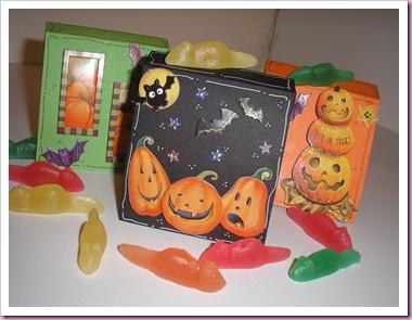 Halloween sweet boxes
