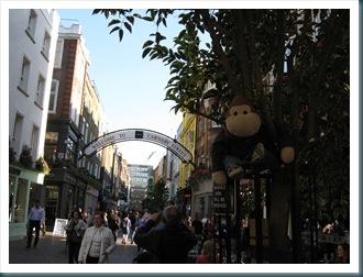 Monkey in Carnaby Street