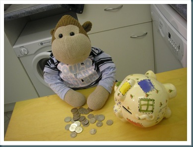 Monkey Counting Money