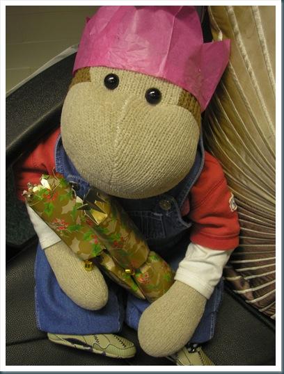 Monkey with Cracker