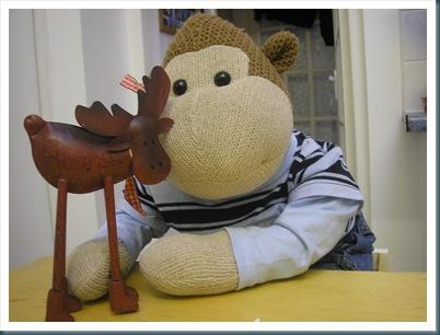 Reindeer & Monkey