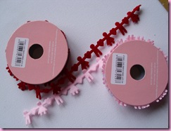 HobbyCrafts Sale Item- Boy and Girl Felt Ribbons