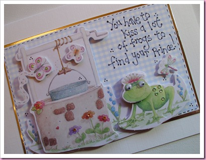You have to kiss a lot of frogs Card