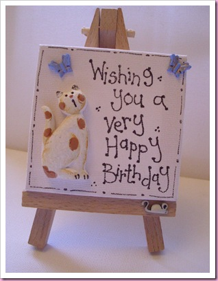 Birthday Easel