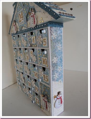 Tesco Advent Calendar House 3a