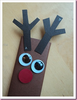 Close Up of Rudolph Chocolate Bar