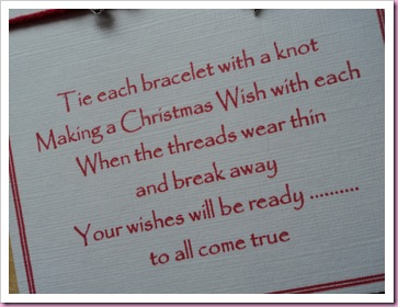 Christmas Wish Bracelet 4