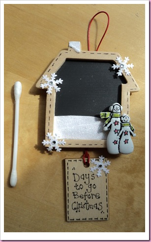 Tiny Advent Calendar House