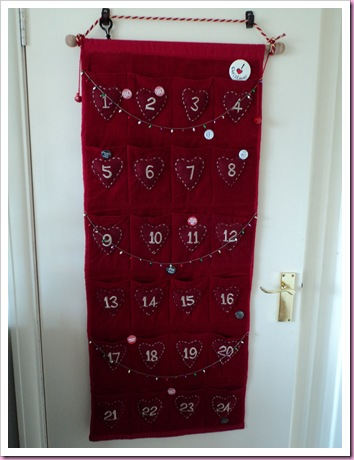 Many Pocketed Advent Calendar Challenge