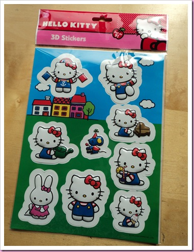 Hello kitty Stickers Asda