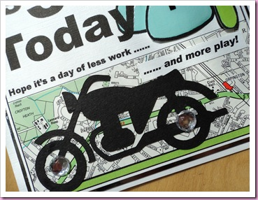 Biker Birthday card