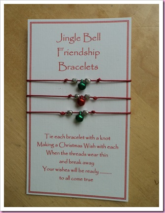 Jingle Bell Friendship bracelet