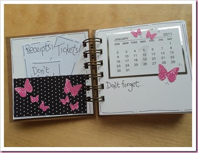 Date, Note &amp; receipt Book 2