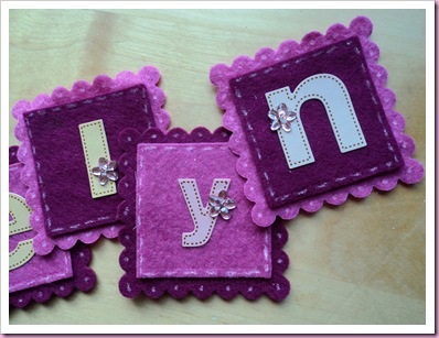 Scalloped Squares for name - nestabilities